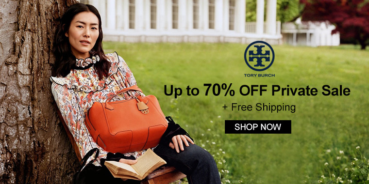 Tory Burch: Up to 70% Off Private Sale + Free Shipping