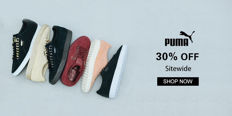 PUMA:Up to 30% OFF Select Items