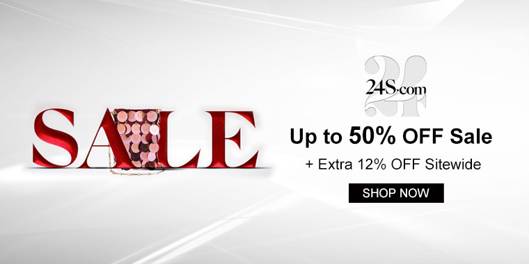 24S: Up to 50% OFF Sale + Extra 12% OFF Sitewide