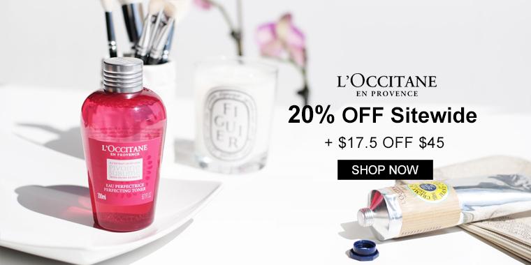 L'Occitane: $17.5 OFF $45 Sitewide