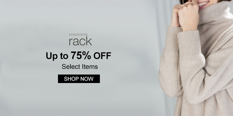 Nordstrom Rack: Up to 75% OFF Select Items