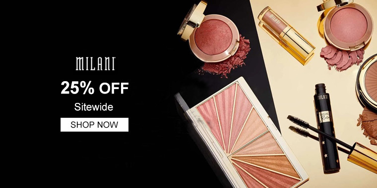 Milani Cosmetics: 25% OFF Sitewide