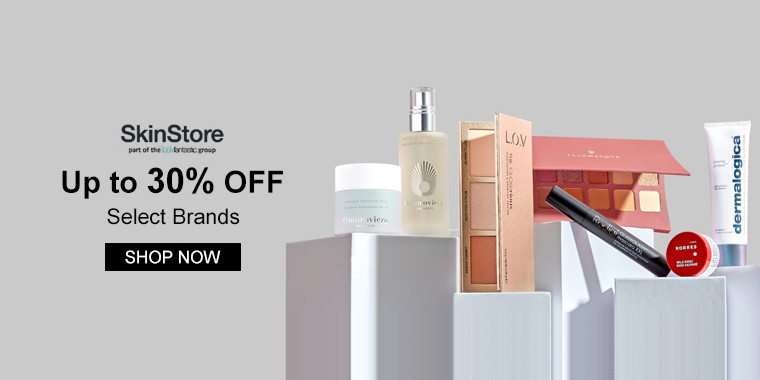 SkinStore: Up to 30% OFF Select Items