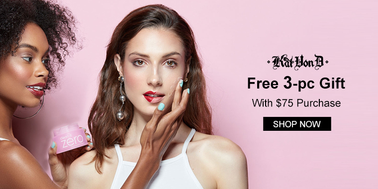 Kat Von D: Free 3-pc Gift With $75 Purchase