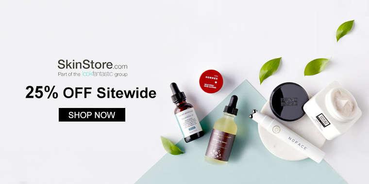 SkinStore:25% OFF Sitewide